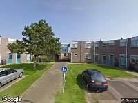 112 melding Ambulance naar Tjalkstraat in Den Helder