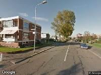 112 melding Brandweer naar Nachtegaallaan in Katwijk vanwege verkeersongeval