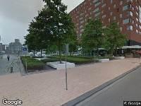 Ambulance naar Otto Reuchlinweg in Rotterdam