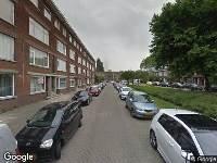 112 melding Ambulance naar De Quackstraat in Rotterdam