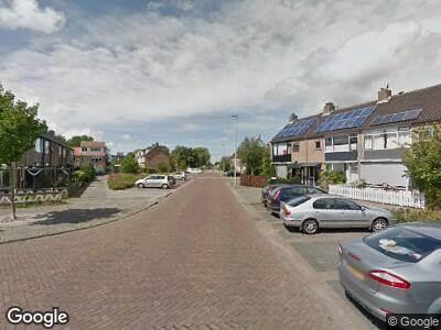 Ambulance naar Hoonaartstraat in Hellevoetsluis