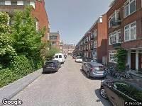 112 melding Ambulance naar Libellenstraat in Rotterdam