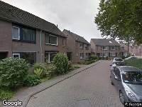 112 melding Brandweer naar Rutselboslaan in Oosterhout
