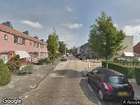 112 melding Brandweer naar Burgemeester Hermansstraat in Rijnsburg vanwege verkeersongeval