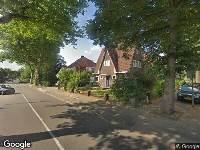 112 melding Besteld ambulance vervoer naar Vondellaan in Beverwijk