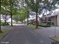 Ambulance naar Burgemeester Vogelslaan in Oisterwijk