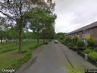 112 melding Brandweer naar Harelbekestraat in Breda