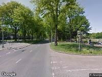 Ambulance naar Rueckertbaan in Tilburg