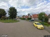 112 melding Ambulance naar De Specht in Budel