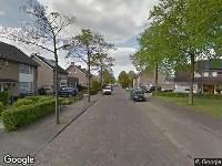 Brandweer naar Schutsboom in Schijndel vanwege verkeersongeval