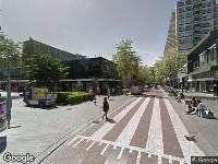 Brandweer naar Kruiskade in Rotterdam vanwege brand