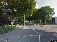 112 melding Ambulance naar Thomas van Aquinostraat in Tilburg