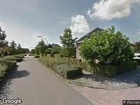 Ambulance naar Eline Verelaan in Oosterhout