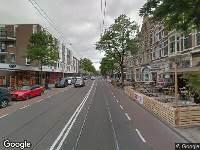 112 melding Besteld ambulance vervoer naar Nieuwe Binnenweg in Rotterdam