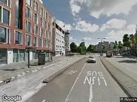 112 melding Ambulance naar Houtplein in Haarlem vanwege ongeval met letsel