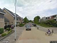 112 melding Politie naar Nachtegaallaan in Rozenburg