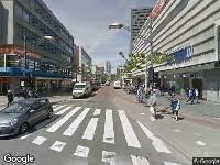 Politie naar Westblaak in Rotterdam vanwege ongeval met letsel