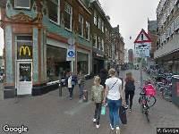 112 melding Ambulance naar Gedempte Oude Gracht in Haarlem