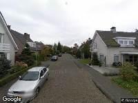 Ambulance naar Schout Coomansstraat in Oisterwijk