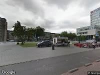 112 melding Besteld ambulance vervoer naar Burgemeester s'Jacobplein in Rotterdam