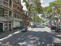 Brandweer naar Van Vollenhovenstraat in Rotterdam