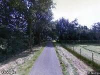 Politie naar Mortelweg in Vlijmen vanwege ongeval met letsel