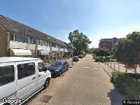 Ambulance naar Uranusstraat in Alphen aan den Rijn