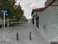 112 melding Brandweer naar Pascalerf in Tilburg