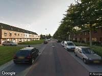 112 melding Besteld ambulance vervoer naar Roodeschoolstraat in Tilburg