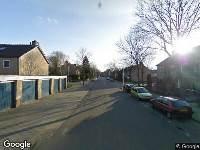112 melding Ambulance naar Obrechtstraat in Tilburg