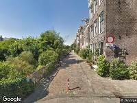 Ambulance naar Bickersgracht in Amsterdam