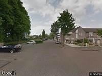 112 melding Ambulance naar Lambert de Wijsstraat in Tilburg