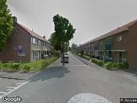 Brandweer naar Bernhardstraat in Strijen