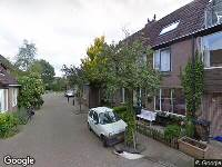 Ambulance naar Zwaluwstraat in Alkmaar
