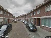 Ambulance naar Hobbemastraat in Tilburg