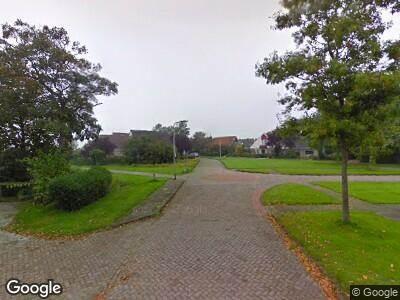 Brandweer naar De Omrin in Winsum vanwege verkeersongeval