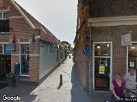 Ambulance en brandweer naar Kerkstraat in Hattem