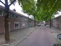Ambulance naar Rob van Spaendonckstraat in Tilburg
