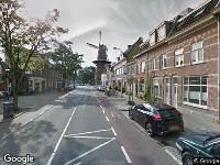 Brandweer naar Adelaarstraat in Utrecht vanwege brand