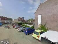 Brandweer naar Suze Groeneweg-erf in Dordrecht vanwege wateroverlast