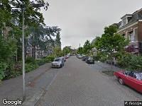 112 melding Brandweer naar Johan Willem Frisostraat in Leeuwarden vanwege gebouwbrand