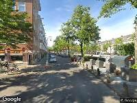 Ambulance naar Columbusplein in Amsterdam