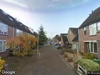 112 melding Ambulance naar Honingzwam in Alphen aan den Rijn