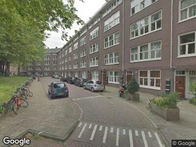 Brandweer naar Westzaanstraat in Amsterdam