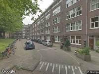 112 melding Brandweer naar Westzaanstraat in Amsterdam