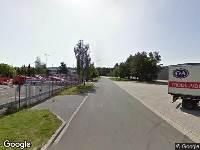 112 melding Brandweer naar Karolusstraat in Oosterhout