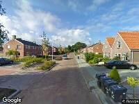 Brandweer naar Caspar de Roblesstrjitte in Kootstertille vanwege verkeersongeval