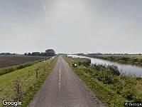 112 melding Brandweer naar Noordschermerdijk in Oterleek vanwege brand
