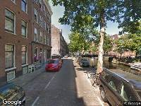 112 melding Brandweer naar Westerkade in Amsterdam