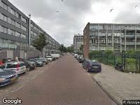 112 melding Politie naar Evertsweertstraat in Amsterdam